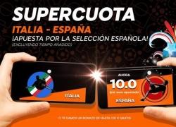 Descubre la supercuota de 888sport por la victoria de España ante Italia